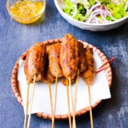 Vietnamese Grilled Pork Skewers (Nem Nuong)