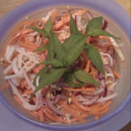Vietnamese Lotus Stem Salad