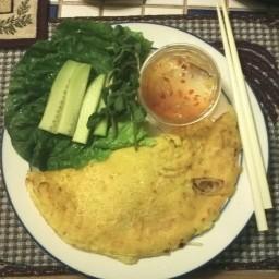 Vietnamese Pancake (Banh Xeo)