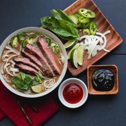 Vietnamese Pho with Flank Steak
