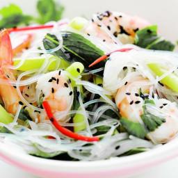 Vietnamese prawn & glass noodle salad