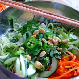 Vietnamese Zucchini Noodle Bowl {Bún Chà}