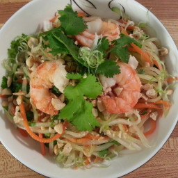 Vietnamese Green Papaya Salad
