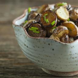 Vinegar Salt Baby Potatoes