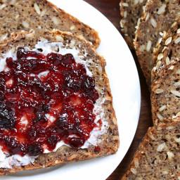 Vollkornbrot (German Whole Grain Seed Bread)