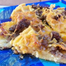 Waffle Breakfast Casserole