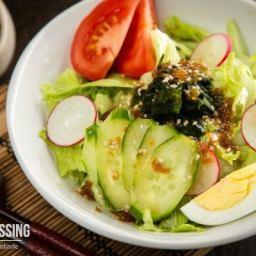 Wafu Dressing (Japanese Salad Dressing)
