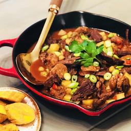 Wagyu Flank Steak Spanish Ropa Vieja