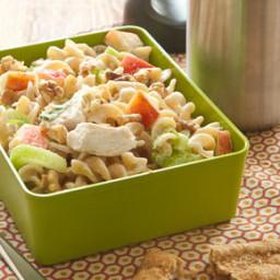 Waldorf Chicken and Pasta Salad