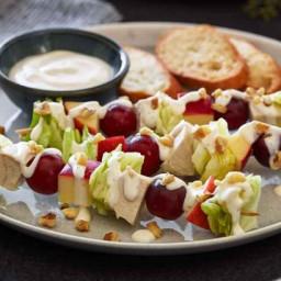 Waldorf Salad-on-a-Stick