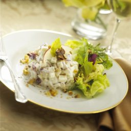 Waldorf Salad with Fresh Goat Cheese