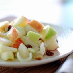 Waldorf Salad with Walnut Oil Vinaigrette Recipe