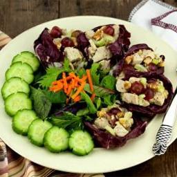 Walnut & Grape Chicken Salad