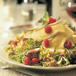 Warm Brie Salad
