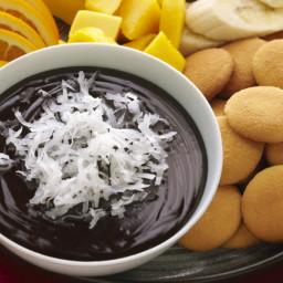 Warm Chocolate-Coconut Dip