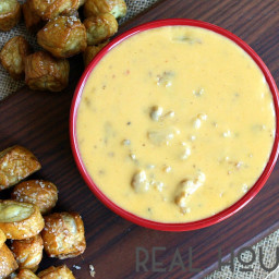 Warm Chorizo and Beer Cheese Dip