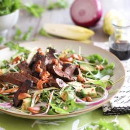 Warm Liver & Cashew Salad