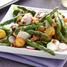 Warm New Potato and Asparagus Salad