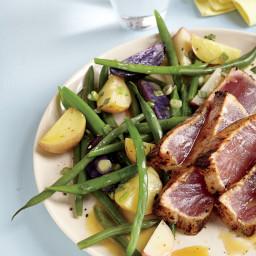 Warm Potato and Green Bean Salad