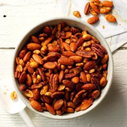 Warm Spiced Nuts