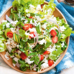Warm Thai coconut and lemongrass salad