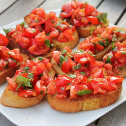 Warm Tomato Salad -  LFD/Vegans