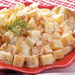 Warm Dill Potato Salad Recipe