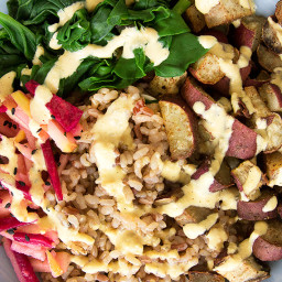 Warming Winter Salad Bowl
