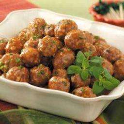 Water Chestnut Meatballs