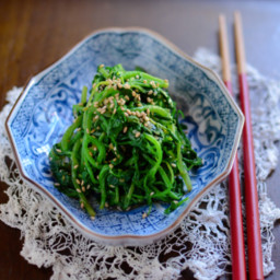 Watercress in Soy Sauce Namul