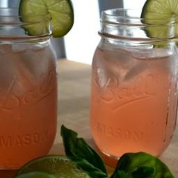 Watermelon-Basil Shrub (A Drink!)