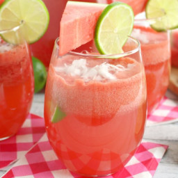 Watermelon Coconut Rum Punch