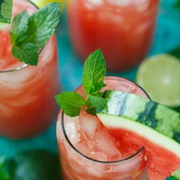 Watermelon Mint Lime Juice