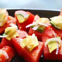Watermelon Sashimi