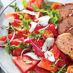 Watermelon-Tomato Salad