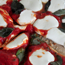 Weber Pizza Margherita Style