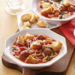 Wedding Soup with Italian Sausage