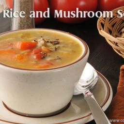 Weekly Ad Recipe - Wild Rice and Mushroom Soup