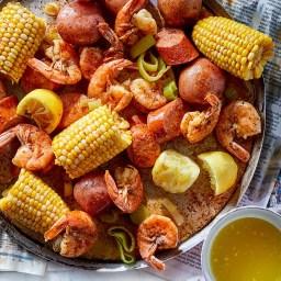 Weeknight Shrimp Boil