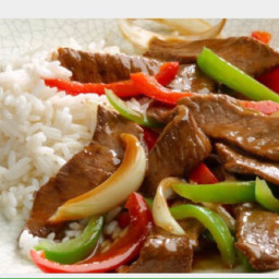 Weeknight Pepper Steak