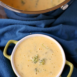 Weight Watchers Broccoli Cheddar Soup