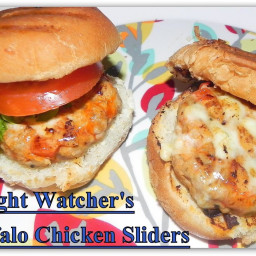 Weight Watcher's Buffalo Chicken Sliders