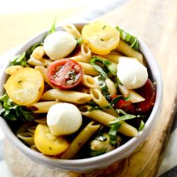 Weight Watcher's Caprese Pasta Salad