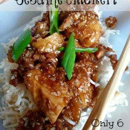 Weight Watchers Sesame Chicken Recipe
