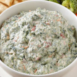 Weight Watchers Sour Cream and Spinach Dip Recipe