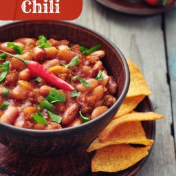 Weight Watchers Beef and Bean Chili (5 pts)