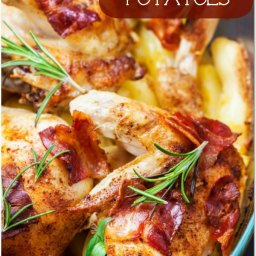 Weight Watchers Roasted Rosemary Chicken and Potatoes