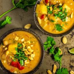 West African Peanut Stew [Vegan, Gluten-Free]