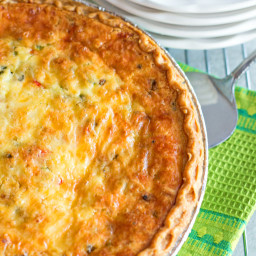 Western Omelet Quiche