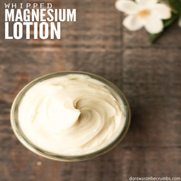WHIPPED MAGNESIUM LOTION
